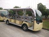 14 Seaters traslado autobús eléctrico vehículos de pasajeros con puertas