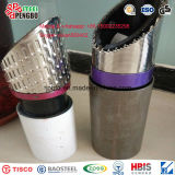 Tubulação de filtro entalhada da tubulação do aço inoxidável de ASTM A312 com CE