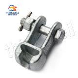Forjado aço galvanizado Socket Clevis for Pole Line Hardware