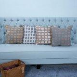 Handgemachtes dekoratives Kissen/Kissen mit Ausgehöhltem-heraus geometrischem Muster (MX-06)