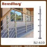販売または階段手すり(SJ-603)のための屋外のステンレス鋼の手すり