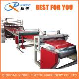Machine van de Uitdrijving van de Mat van de Vloer van de Grondstof van pvc de Plastic