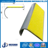 Anti Slip Carborundum Stair Nose Alumínio Stair Nosing