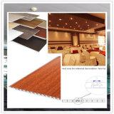 Panneau de mur imperméable à l'eau de laminage avec la largeur du matériau 25cm de PVC