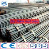 Barra de acero deformida Gr40/Gr60 de ASTM para la construcción