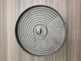 熱い版の暖房版を投げるねずみ鋳鉄