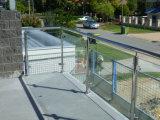 옥외 Decking 스테인리스 유리제 난간 또는 Pation 유리제 난간 또는 테라스 난간