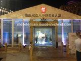 Tienda blanca de Exhibtion de 350 personas con la puerta de cristal para el pabellón de alquiler