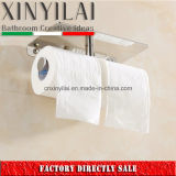 Supporto di carta igienica del doppio del bicromato di potassio della stanza da bagno con il coperchio