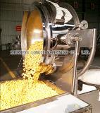 Linha de produção de pipoca de sabores de caramelo