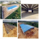 Kits de construcción de acero prefabricados para aplicaciones industriales (KXD-SSB6)