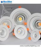 El CREE LED ahuecado MAZORCA Downlight de RoHS del Ce con el programa piloto LED de Osram abajo se enciende con 3 años de garantía