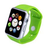 Téléphone intelligent de vente chaud de montre de Bluetooth 4.0 avec la carte de SIM/TF et l'appareil-photo (GM18S)