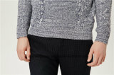 Lavori o indumenti a maglia degli uomini di miscela delle lane del Knit del cavo