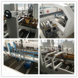 De automatische machine van Gluer van de Omslag van Flexo van de Doos van het Karton