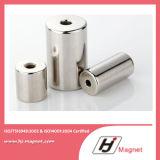 モーターのシリンダー常置NdFeBの極度の強いN35-N38ehによってカスタマイズされる磁石