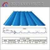 SGCC CGCC Dx51d lange Überspannungs-Farben-überzogenes gewölbtes Dach-Blatt
