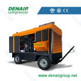Compressor de ar móvel do parafuso do motor Diesel (ISO&CE)