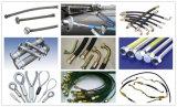 Machine de rabattement de tuyau hydraulique sertissant par replis le tuyau hydraulique