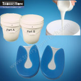シリコーンゴムを治させるRTV-2プラチナに無水ケイ酸のパッドのゲルの靴の中敷