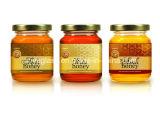 꿀, 저장 유리병을%s 대중적인 모양 유리제 단지