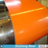 Il colore preverniciato ha ricoperto la bobina d'acciaio PPGI (0.14 di Galvanzied--1.3mm)