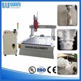 5axis 3Dの木版画CNCのルーターの木工業の機械工場の価格