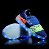 Спорт освещает вверх ботинки детей СИД ботинка светлые идущие для малышей