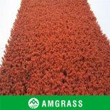 Ведение и профессиональное изготовление травы тенниса искусственной (AN-20D) (КРАСНЫЙ ЦВЕТ)