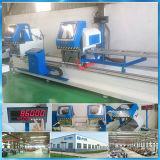 Double aluminium principal et machine de découpage de PVC