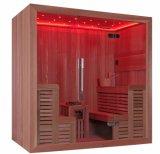 Pièce d'intérieur modèle de sauna de constructeur professionnel de vente directe d'usine seule (M-6043)