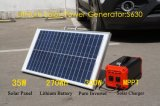 Generador solar 270wh del litio portable ligero para el uso casero
