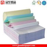 Papier listing sans carbone continu de papier d'imprimerie de 2/3 pli