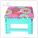 25*20*20.5cm Sturdy Plastic Foldable Stool with Sublimation Printing