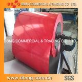 Горяче/окунутый горячий гальванизировано Prepainted/цветом покрынный гофрированный стальной материал листа ASTM металла толя PPGI