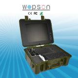 15 cámara de la inspección de la pipa del pozo del monitor de la pulgada TFT con DVR