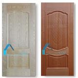 Sapelliの灰のベニヤHDFによって上げられる様式のドアのパネルの皮