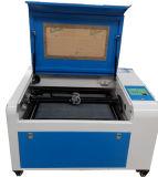 High Performance Máquina Mini Laser Engraving para Madeira Couro Borracha