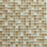 mosaïques de mélange en verre et de pierre de 15*15*8mm (GS01)