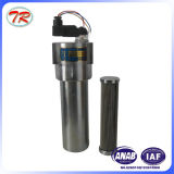 Filtro de alta pressão do filtro de petróleo hidráulico do aço inoxidável