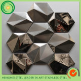 中国Supplier著Alibaba COM Mirror Stainless Steel Tiles Mosaic Decoraitve Stainless Steel