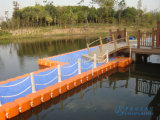 Flotadores plásticos el pontón