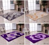 Hand heftete sich 100% Shaggy Silk Teppiche des Polyester-3D, Fußboden-Matten durch