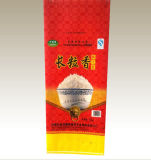 100% neues Material, das pp. gesponnenen Beutel für Reis verpackt