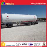 3半車軸トラック36-58cbm LiquidfiedのガスLPGタンクトレーラー
