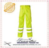 2017 pantalons élevés de visibilité d'usure de travail (HV-005)