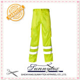 作業摩耗の高い可視性のズボン(HV-005)