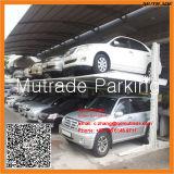 CE 2 pavimenti due automobili che parcheggiano l'elevatore idraulico di parcheggio dell'automobile di doppio strato dell'alberino dell'elevatore due