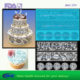Rose Pattern Silicone Lace Mould для Wedding Cake и Cupcke Deocration