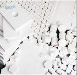 De hoge Alumina Ceramische Plaat van de Slijtage met Weerstand Op hoge temperatuur